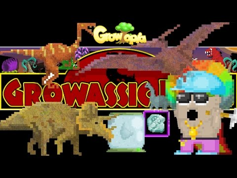 EXTRACTING FOSSILS [GROWASSIC PARK] | Growtopia