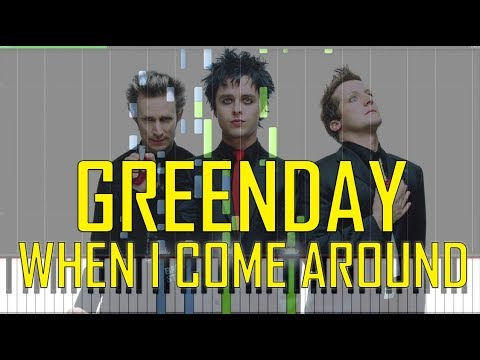 Green Day When I Come Around Piano Tutorial - Chords - How To Play ...