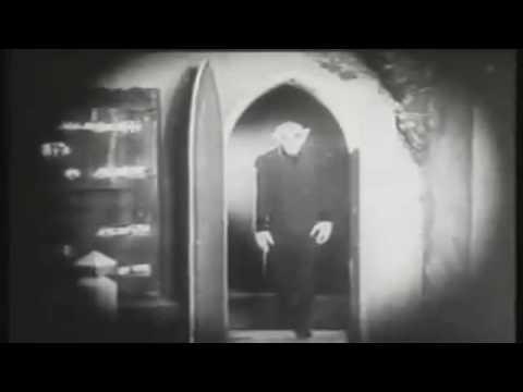 Nosferatu Spooky Door Scene 1922