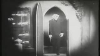 Nosferatu Spooky Door Scene (1922)