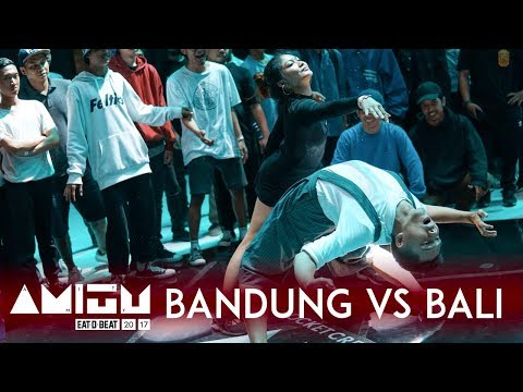 Bandung vs Bali | City vs City Exhibition Battle | Eat D Bea