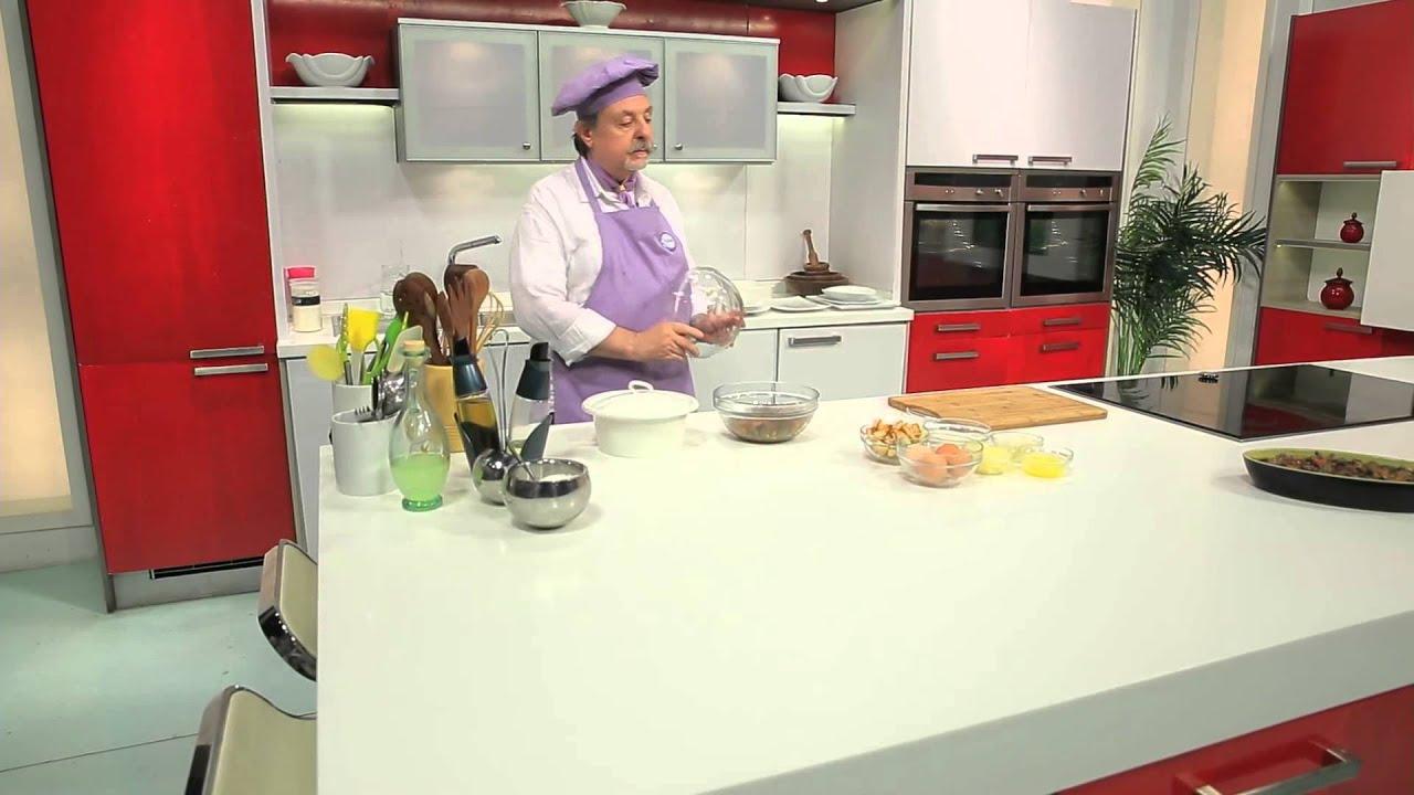 كبده بتلو وكلاوي ضاني - اومليت في الفرن : طبخة ونص حلقة كاملة