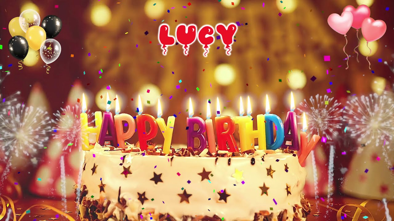 Lucy Birthday Song Happy Birthday Lucy Youtube