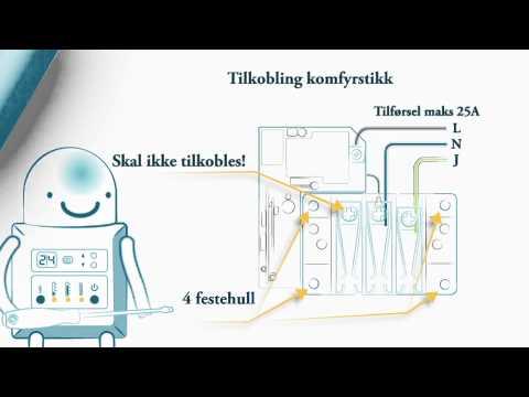Microsafe komfyrvakt mkomfy 25r trådløs 25a MegaFlis.no