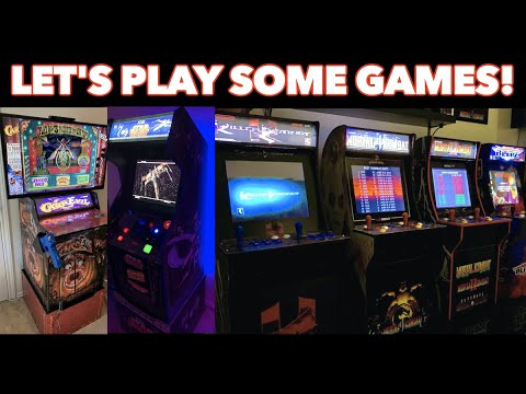Classic Arcade Gaming LIVE! | Killer Instinct Air Combos & Lady KAG's Birthday! from Killer Arcade Games