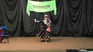 Надежда Шабинская. Индийский танец (04.10.2011)