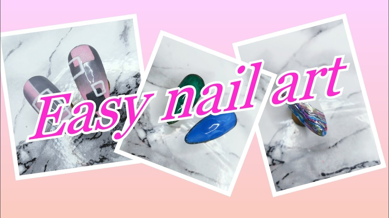 Quick easy gel polish designs | nail art | modelones | tomicca