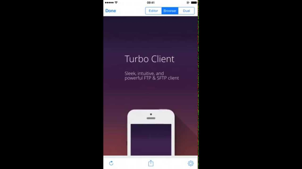 Turbo Client | FTP client & SFTP client with Text Editor