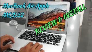 laptop MacBook air MQD32 2017 | unboxing & review MacBook