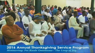 The Leap of Joy - Pastor Kunle Omotoso