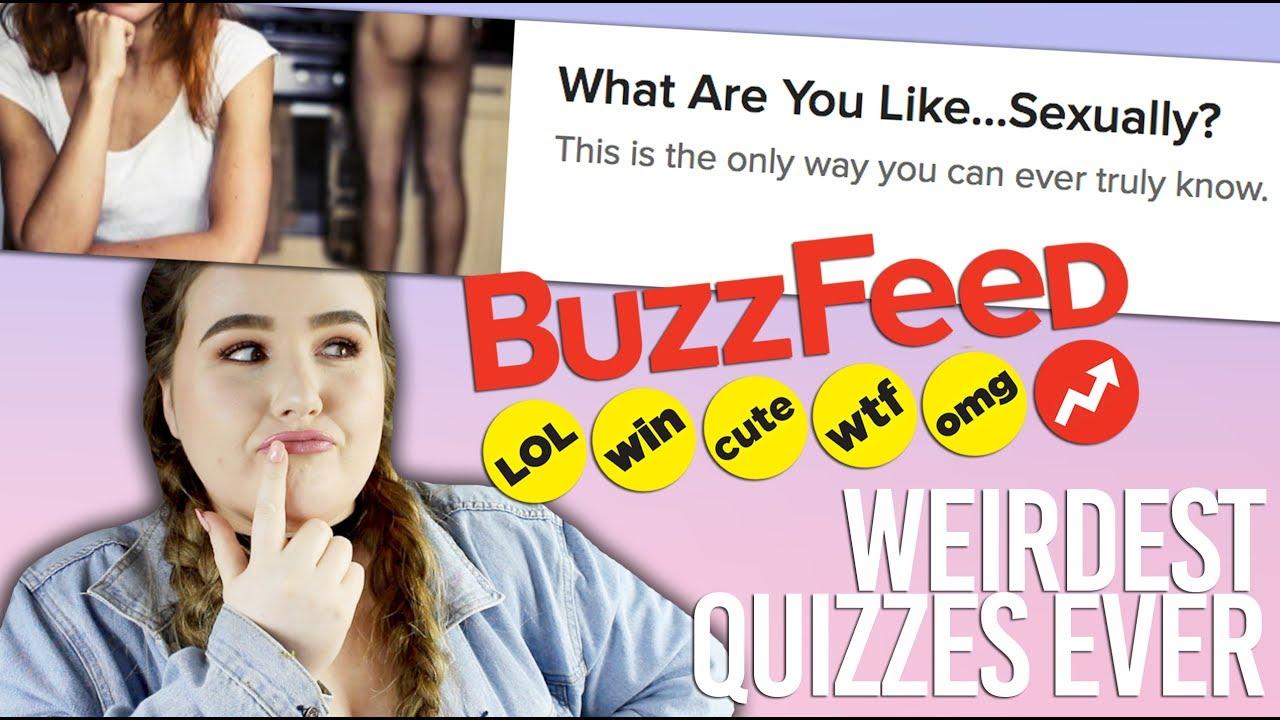 Buzzfeed sexuality quiz