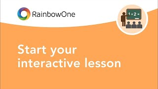 RainbowOne | Start your interactive lesson