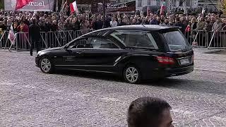 Pogrzeb Kornela Morawieckiego. Msza w Katedrze Wojska Polskiego