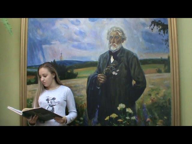 Изображение предпросмотра прочтения – АлинаДонникова читает произведение «Как хороши, как свежи были розы...» И.С.Тургенева