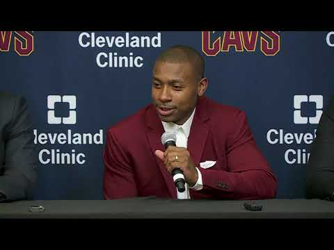 Isaiah Thomas, Jae Crowder, Ante Zizic introduced as Cleveland Cavaliers | Press Conference