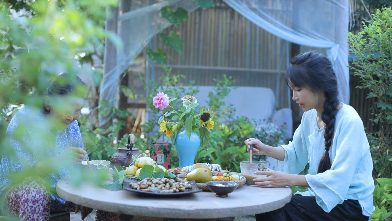 """Image result for 李子柒cooking"""""""