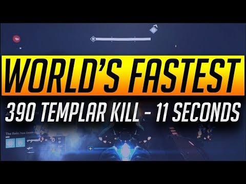 World's Fastest 390 Templar Kill - 11 Seconds