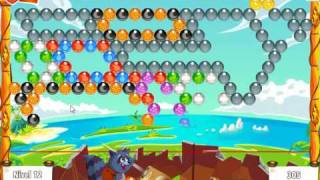 Bubble Island Stage 10 Level 12 (Final level Volcano)