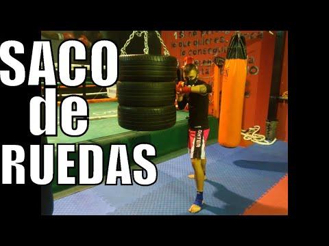 Tutorial Hacer Saco de Neumaticos/Ruedas - Make Tyre Bag Fitness MuayThai MMA K1