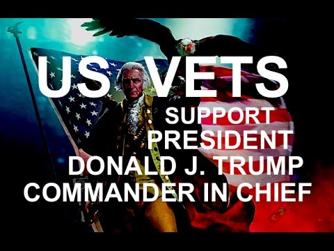 BREAKING: DEMOCRAT WAR: US VETS SUPPORT COMMANDER IN CHIEF PRESIDENT TRUMP: CALLING ALL VETS