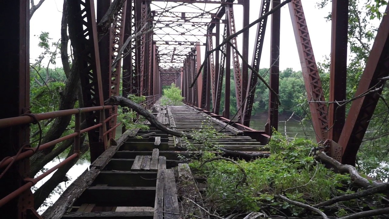 Free Car History Report >> Abandoned RR Bridge in Northeast, Pa - YouTube