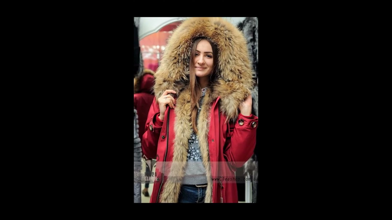 Зимняя Женская Куртка Парка Хаки Lisa1.Ru [Зимние Парки С .