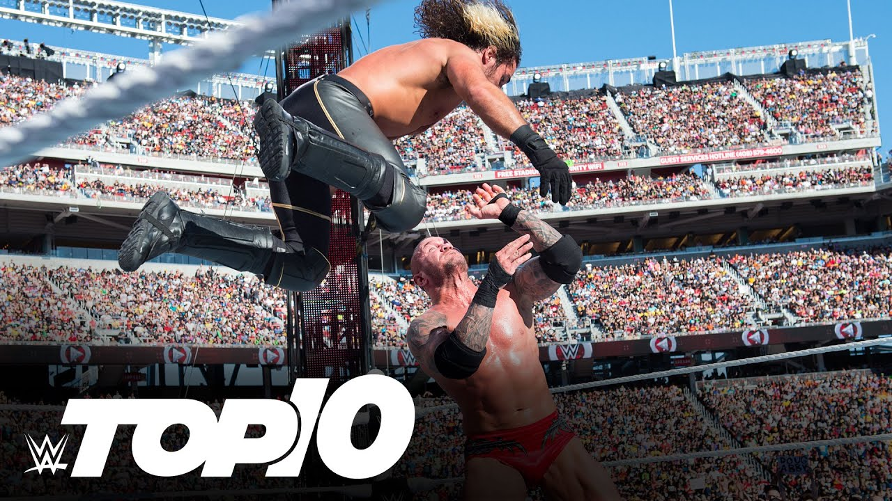 Randy Orton's greatest WrestleMania moments: WWE Top 10, March 31, 2021