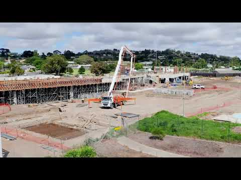 Wulanda Recreation and Convention Centre - Construction Time-lapse November 2020 to September 2021