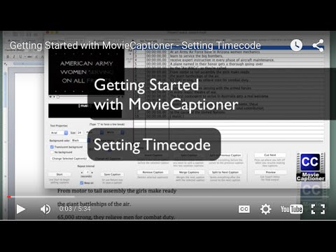 MovieCaptioner - Closed Captioning Software for Mac and Windows by