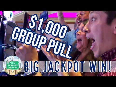 HUGE HANDPAY 💰EPIC FIRST GROUP PULL $100 EACH $1000 IN SLOT PLAY
