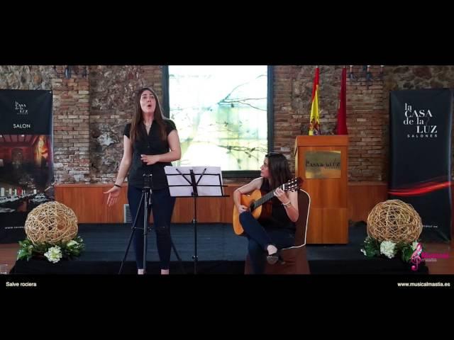 Salve rociera Cantante y guitarra coro Rociero Misa Rociera Bodas Murcia