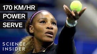 Why Serena Williams' Serve Dominates Tennis