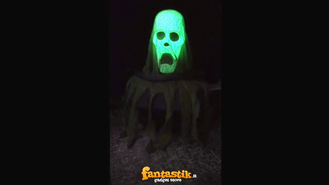 Teschio nel calderone per Halloween  con luci e suoni - Fantastik ... 40d2695fb327