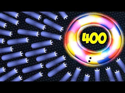 400 БОТОВ В СЛИЗАРИО | Slither.io