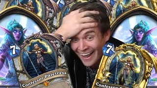 (Hearthstone) Two Priests, Six Confessors