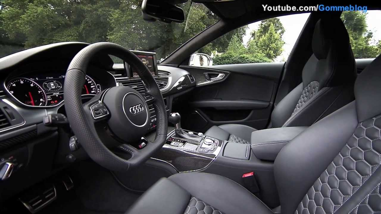 Audi Rs7 2011 >> All-New Audi RS7: Nice Interior View and Detail [1080p HD] - YouTube