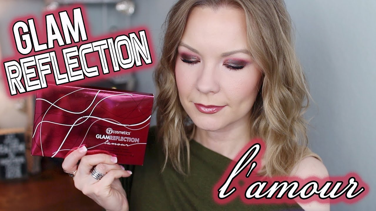 Bh Cosmetics Glam Reflections L Amour Swatches Review Tutorial Lipglossleslie