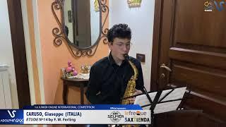 Giuseppe Caruso – Etude Ferling 14