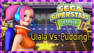 Ulala Vs. Pudding - Sega Superstars Tennis