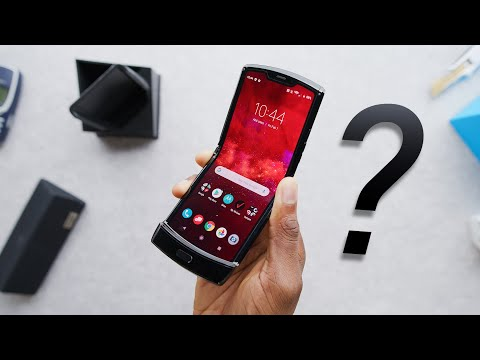 Foldable Moto RAZR Unboxing & Second Thoughts!