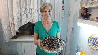 """Торт  """"Санчо Панчо""""удивительно простой и необычайно вкусный"""
