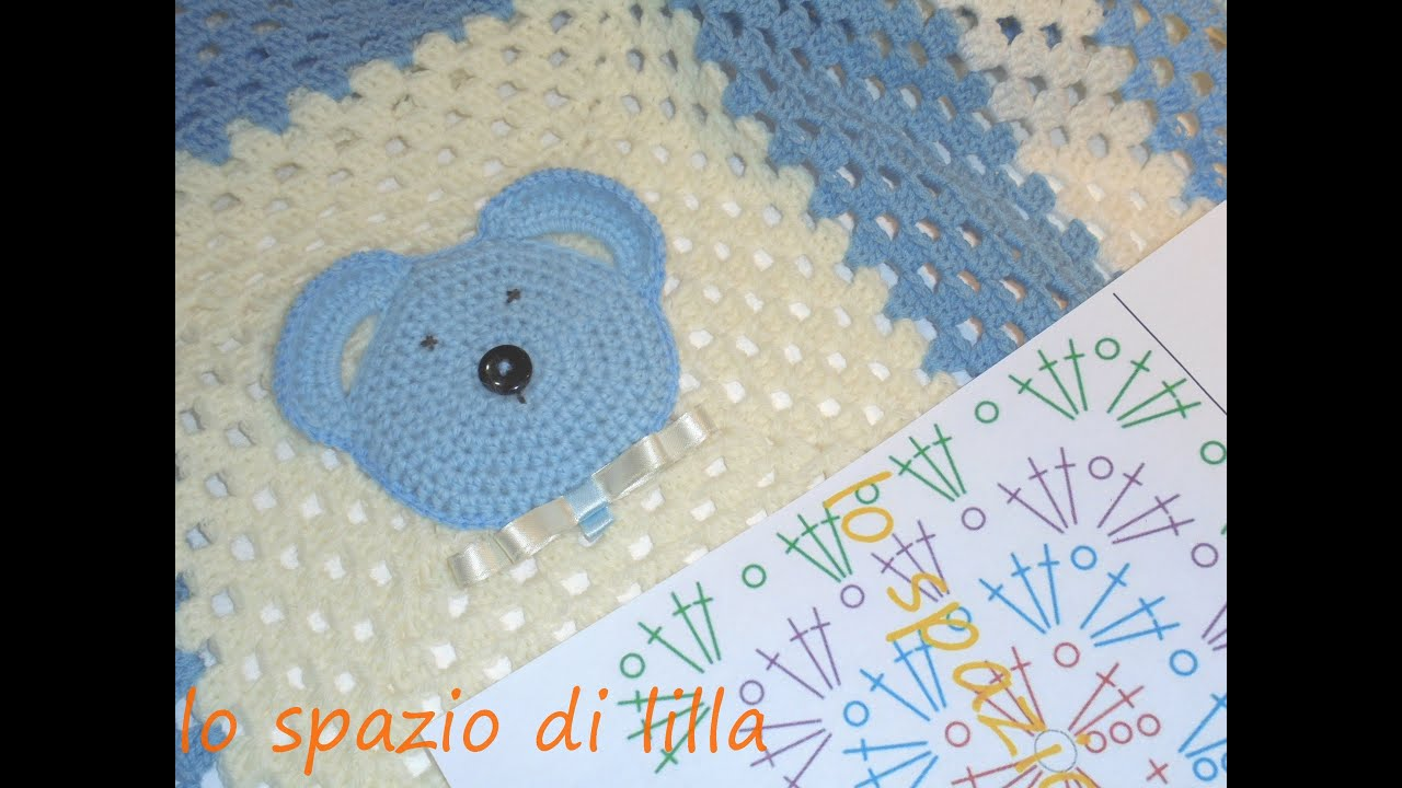 Favorito lilla's tutorials: the Big Granny crochet blanket / La mattonella  WY79