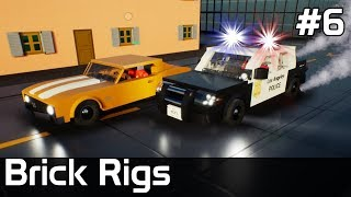 Brick Rigs PL [#6] POLICJANT kontra ZŁODZIEJ, czyli POŚCIG /z Plaga