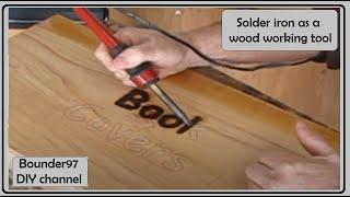 Woodworking Soldering Iron