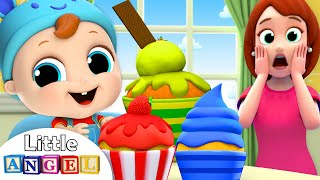 Baby's Snack Time! | Muffin Man Song | Nursery Rhymes by Little Angel