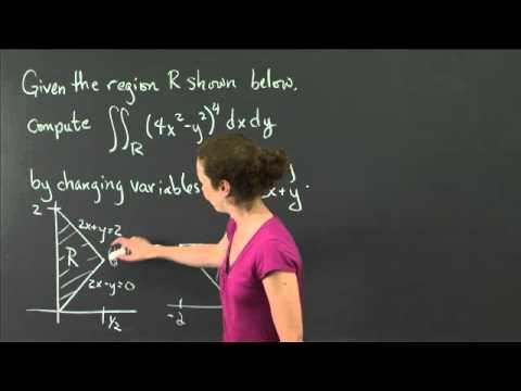 Change of variables | MIT 18.02SC Multivariable Calculus, Fall 2010