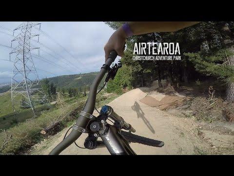70 JUMP Downhill Mountain Bike trail - Airtearoa Christchurch Adventure Park