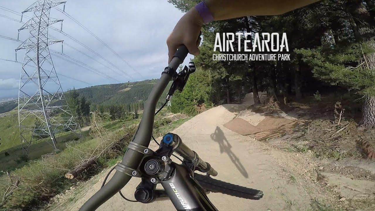 70 Jump Downhill Mountain Bike Trail Airtearoa Christchurch