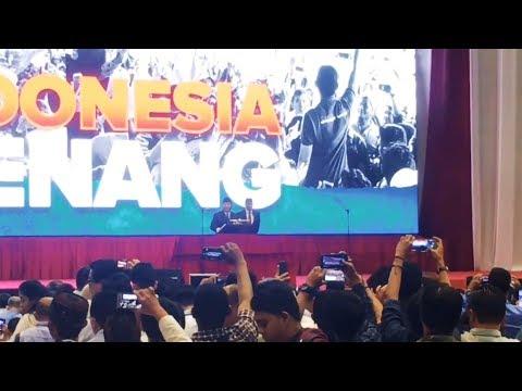 Pidato Kebangsaan Prabowo Subianto di Plennary Hall Jakarta Convention Centre (JCC) Jakarta Pusat Mp3