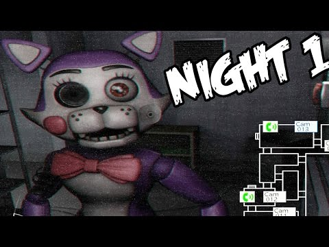 Five Nights at Candys 2: Part 1 - CINDY ATTACKS! UPGRADED ANIMATRONICS!